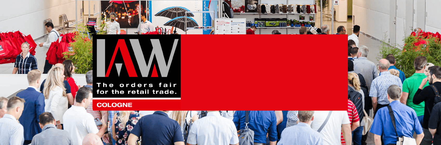 WE'LL BE THERE! IAW Trade Fair