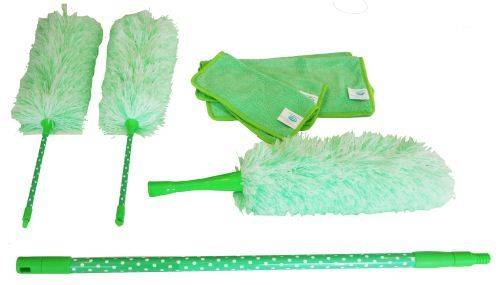 Aqua Laser Super-Stofferset mint-groen 8-dlg
