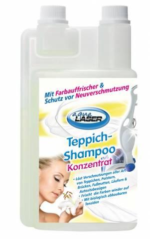 Aqua Laser tapijtshampoo sensitief 1000 ml.