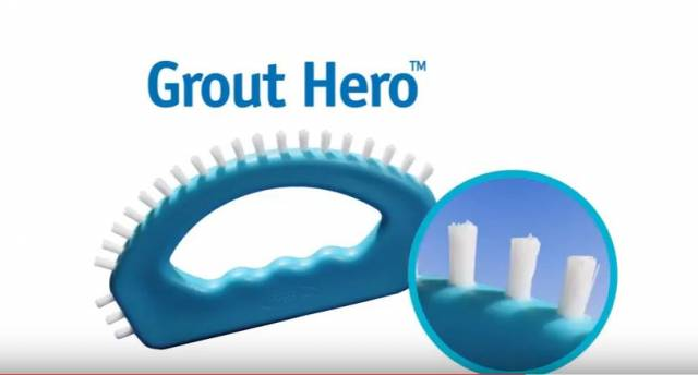 VIDEO Aqua Laser Grout Hero