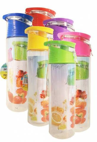 Waterfles met fruitfilter