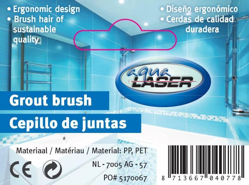 Aqua Laser voegenborstel