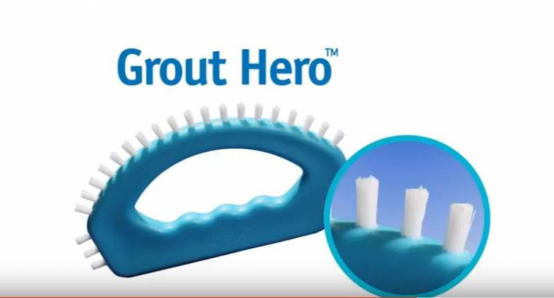 VIDEO Aqua Laser Grout Hero