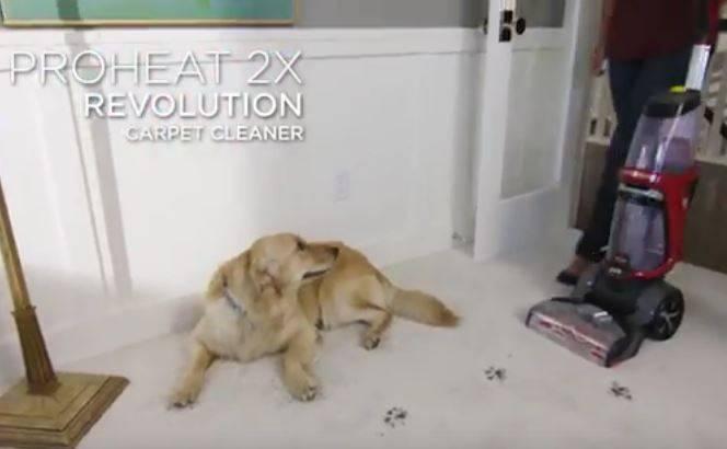 VIDEO Bissell Proheat 2x Revolution